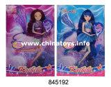 Jouets en plastique de vente chaude pour la poupée commune solide de Winx de guindineau féerique de fille (845194)