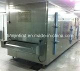 Congelatore del congelatore IQF del traforo dei frutti di mare del filetto di pesce del gambero
