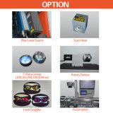 Farben-aus optischen Fasernlaser-Markierungs-Maschine für PVC/Surgical Instrumente/Kupfer/Plastik