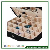 Hot Sale Customized Travel Jewelry Box de armazenamento