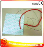 Verwarmer van de Printer van het silicone Rubber 3D 12V 350W 300*300*1.5mm 3m 100k