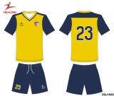 De Healong nueva serie de la sublimación del diseño lo más tarde posible de uniformes del balompié del fútbol cualquie insignia