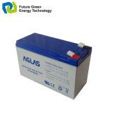 batteries d'acide de plomb de lumière Emergency de SLA rechargeable profond du cycle 12V7ah