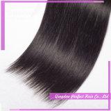 絹のまっすぐなブラジルのバージンの毛の織り方