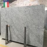 Сляб Bianco Carrara высокого качества Newstar итальянский твердый поверхностный белый мраморный