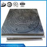 Couvertures de trou d'homme de fer de bâti d'En124 D400/couverture de trou d'homme