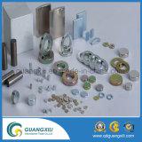 Kundenspezifischer Größe NdFeB seltene Massen-magnetischer materieller Magnet