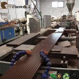 Linha da extrusão do perfil do PE do PVC da madeira WPC da fonte da fábrica