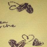 Tela de algodón/algodón/Spandex sola Jersey