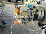 연약한 PVC 섬유에 의하여 강화되는 호스 생산 라인