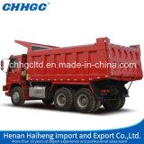 Camion à benne basculante résistant d'exploitation de Henan Chhgc 6X4 à vendre