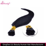 O cabelo humano não processado de 100% Eu-Derruba extensões do cabelo por atacado