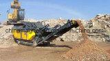 Mini planta móvel do triturador de pedra para a mina de ouro