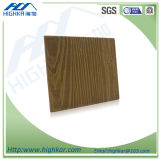 El panel exterior de la hoja de la tarjeta del cemento de la fibra de la viruta del revestimiento