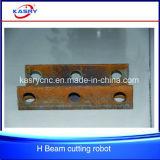 Cortadora automática para el orificio de intersección de la viga de H