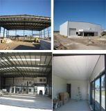 Hangar pré-fabricado dos aviões da construção de aço