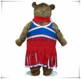 Mascotte su ordine dell'animale del costume della mascotte dell'orso di qualità eccellente