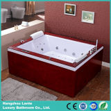 Lujo Ducha Moderna Usando Bath Tub (TLP-666-Madera de la falda)
