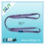 1t*2mポリエステル無限のタイプ平らなウェビングの吊り鎖En1492のセリウムGS