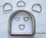 """L'Ue dell'acciaio inossidabile digita l'anello a """"D"""" saldato"""