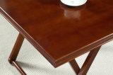 固体ポプラの木製の机の現代机の居間の机の茶表の方法茶表(M-X2035)