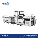Base de papier complètement automatique de l'eau de Msfm-1050e et machine feuilletante thermique