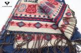 Bufanda exquisita tejida modificada para requisitos particulares de acrílico del Knit del telar jacquar