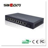 interruttore di POE della rete di Ethernet delle porte di 1000Mbps 15.4W 1GE+ 8 PoE