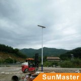 1つの太陽LEDの街灯の保証5年のすべて
