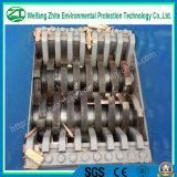 Plastica/pneumatico timpano/della gomma/pellicola/grumi di legno/sacchetti tessuti enormi/singola asta cilindrica/doppia trinciatrice dell'asta cilindrica