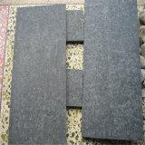 Pedra de basalto natural chinês, telha de basalto, basalto preto