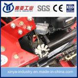 乗油圧駆動機構およびガソリン力の芝刈機