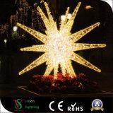 خارجيّ عيد ميلاد المسيح شارع زخرفة [3د] نجم الحافز أضواء