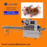 Hochgeschwindigkeitskissen-automatische Mond-Kuchen-Verpackungsmaschinefoshan-Fabrik