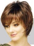 Capelli di Indin del Virgin, capelli umani fatti a macchina di 100% (628392)