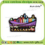 Ricordo personalizzato Canada (RC-CA) di Calgary dei magneti del frigorifero del PVC dei regali di promozione