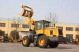 大きい鉱山機械6トンの車輪のローダー