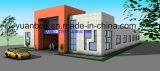 Casa de la estructura de acero y chalet estándar del acero (SC-012)