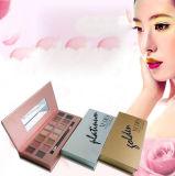 Rectángulo cosmético modificado para requisitos particulares fábrica para la aplicación del sombreador de ojos, rectángulo de regalo de papel, rectángulo del alto grado del sombreador de ojos