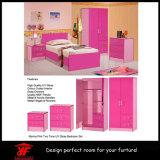 소녀 두 배 색깔 옷장 내각 디자인 가구 침실 세트