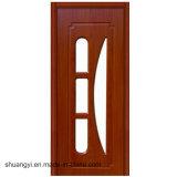 Puerta sólida de madera de roble del diseño internacional para la sala de estar