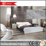 Mattonelle di pavimento sottili Polished della porcellana di bianco grigio di disegno di modo