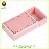 Impresión de la flor de la caja de almacenaje del calcetín