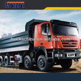 Carro de volquete del vaciado de la piedra del cargamento del carro de Iveco 380HP