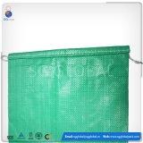 Sac tissé par pp vert pour des graines de l'emballage 50bls