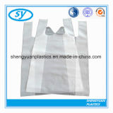 쇼핑 백을 인쇄하는 플라스틱 t-셔츠 조끼