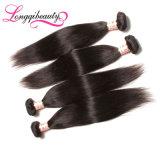 Оптовые сырцовые естественные 100% прямые волосы индейца девственницы