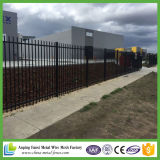 Australien-kommerzieller kundenspezifischer dekorativer Stahlstandardzaun
