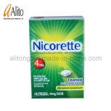 Désaccoutumance du tabac 40pieces de Nicorette Chewing Gum-4mg