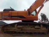 Condição de trabalho usada da máquina escavadora Dhdoosan-500LC-7 boa